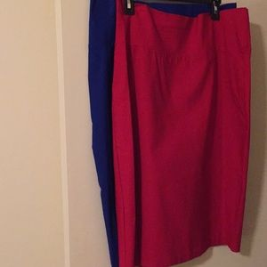 Dresses & Skirts - Pencil skirts/ 2 for 10